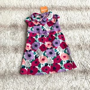 Gymboree 12-18 Mo Corduroy Floral Dress